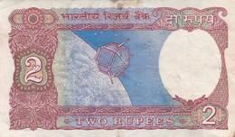 Inde - Billet De 2 Rupees - 1976 - India