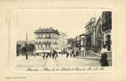 Biarritz Place De La Liberté Et Gare Du B.A. B. RV - Biarritz