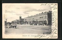 AK Karachi, Preedy Ro. - Ansichtskarten