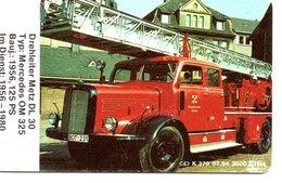 Pompier Fire Brigade Feuerwehr Télécarte Allemagne 3000 Ex Phonecard Germany Deutsche (D 512) - Pompiers