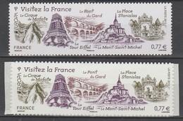 France N° 4661et 713 Autoadhesif ** Europa 2012 Tourisme - Europa-CEPT