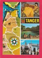 Modern Multi View Post Card Of Tanger,Morocco,P16.. - Tanger