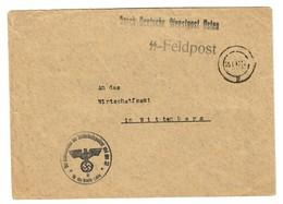 SS-Feldpost Lublin, Kommandeur Der Sicherheitspolizei Und Des SD Nach Wittenberg - Occupation 1938-45