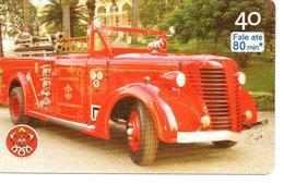 Pompier Fire Brigade Feuerwehr Télécarte Phonecard Brésil (D 517) - Pompiers