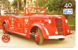 Pompier Fire Brigade Feuerwehr Télécarte Phonecard Brésil (D 517) - Feuerwehr