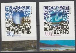 Islande Europa 2012 N° 1288 Et 1289 ** Tourisme - Europa-CEPT