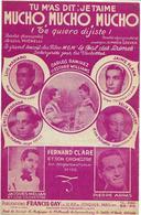 Mucho,mucho,mucho - Luis Mariano... (p : Lull Micaelli ;  M :Maria Grever), 1947 - Music & Instruments