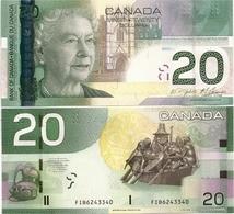CANADA       20 Dollars       P-103f       2004/2009        UNC - Canada