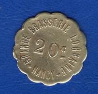 Nancy   Bras  Lorraine  20  Cents - Monetary / Of Necessity