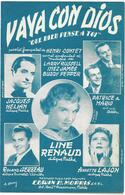 Vaya Con Dios - Line Renaud, Jacques Hélian... (p :  Henri Contet ;  M Larry Russell, Inez James & Buddy Pepper), 1953 - Música & Instrumentos