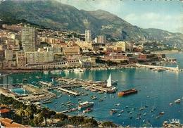 Principaute De Monaco, Montecarlo, Le Port Et Montecarlo, Il Porto, The Harbour, Der Hafen - Porto