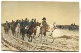 NAPOLEON - Ernest Meissonier Painter, K.u.K. Censura 1917. WW1, Stengel & Co. Art PC - Historische Persönlichkeiten