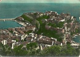Principaute De Monaco, Montecarlo, La Ville, Le Palais Du Prince Et Le Musée Océanographique Vues De La Colline - Viste Panoramiche, Panorama
