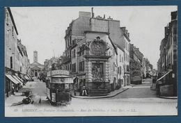 LORIENT - Fontaine Monumentale - Rues Du Morbihan Et Paul Bert - Lorient