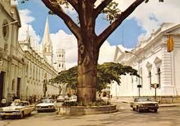 "0599 ""BIBLIOTECA NACIONAL I PALACIO LEGISLATIVO - CARACAS - VENEZUELA"" CART. ORIG. SPEDITA 1978 - Venezuela"