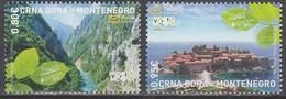 Montenegro Europa 2012 N° 312 Et 313 ** Tourisme - Europa-CEPT