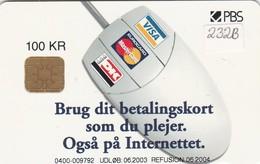 Denmark, DD 232b, Www Betaling Dk,  2 Scans.    06.2003 - Denmark