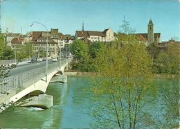 Aarau (Argovie, Svizzera) Aarebrucke, Ponte Sul Fiume Aar, Aar River Bridge - AG Argovie