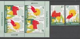 Roumanie Europa 2012 N° 5595 Et 5596 Et BF N° 424 ** Tourisme - 2012