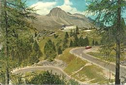 Maloja Passtrasse (Grisons, Svizzera) Und Maloja Kulm, Passo E Picco Maloja, Panorama - GR Grisons