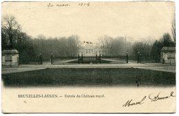 CPA - Carte Postale - Belgique - Bruxelles - Entrée Du Château Royal - 1905  (B8943) - Forêts, Parcs, Jardins