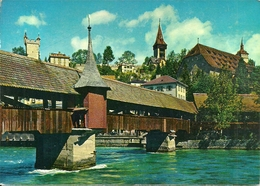 Luzern (Lucerne, Svizzera) Spreuerbrucke, Ponte, Bridge, Pont - LU Lucerne