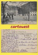 CPA VIENNE 38 ֎ Quartier De La Gare Et Caisse D'épargne Et La Villa BEAURAGARD ֎ 1908 - Cliché C.D. Blanchard - Vienne