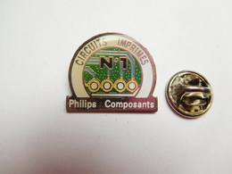 Beau Pin's , Marque Philips Composants , Circuits Imprimés , Informatique - Computers
