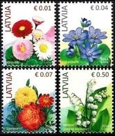 2014Latvia899-902Flowers - Plants