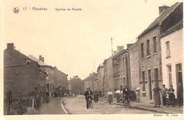 Roselies - Quartier De Pauche (animée, Edit, R. Lizin, Amicale De Farciennes Tombolas Pour Cinéma Scolaire éducatif - Aiseau-Presles