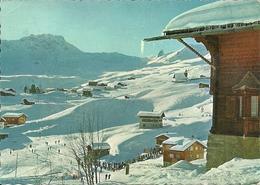 Arosa (Grisons, Svizzera) Inner, Blick Auf Hornli, Panorama Invernale, Vue D'Hiver, Winter View - GR Grisons
