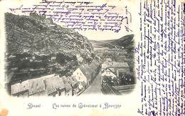 Dinant - Les Ruines De Crèvecoeur à Bouvigne (précurseur, 1902) - Dinant