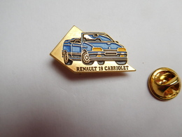 Beau Pin's , Auto Renault 19 Cabriolet - Renault