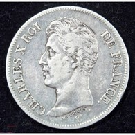 CHARLES X - 5 Francs 1826 B Rouen - France