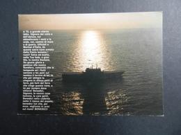19943) INCROCIATORE PORTAEREI GIUSEPPE GARIBALDI NON VIAGGIATA PREGHIERA MARINAIO - Guerra
