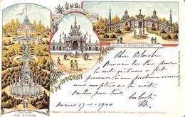 Tervueren - Multi Vues Litho Colorisée Animée 1900 Maison à L'Innovation, Rue Neuve, Ouverture Prochaine,,, - Tervuren