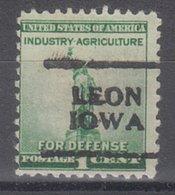 USA Precancel Vorausentwertung Preo, Locals Iowa, Leon 701 - United States