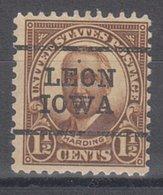 USA Precancel Vorausentwertung Preo, Locals Iowa, Leon 684-L-3 TS - Vereinigte Staaten