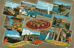 Geneve (Ginevra, Svizzera) Vedute, Panoramics Views, Vue Panoramique, Ansichten - GE Ginevra