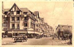 Knocke Zoute - Avenue Du Littoral (animée, Oldtimer, Pâtisserie Westminster...1945) - Knokke