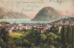 Ti Tessin : LUGANO : Panorama E Monte S. Salvatore ( Colorisée ) - TI Tessin
