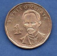 Cuba -  1 Peso 1994      Km #  347 -  état  SUP - Cuba