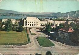 Geneve (Ginevra, Svizzera) Palais Des Nations, Batiment Des Assemblées, Secrétariat Et Bibliotèque - GE Ginevra
