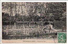 Cpa Prechacq Les Bains Source Du Parc - Francia