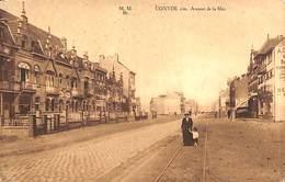 Coxyde - Avenue De La Mer (animation, Ed. Galeries Coxydoises, Marco Marcovici 1921) - Koksijde