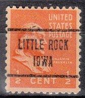 USA Precancel Vorausentwertung Preo, Locals Iowa, Little Rock 723 - Vereinigte Staaten
