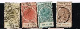 Lot Australie Du Sud, Anciens Timbres à Identifier - Stamps