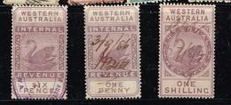 Lot Australie Occidentale, Anciens Timbres à Identifier - Stamps