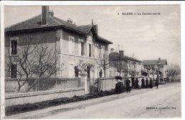 Cpa Mezos La Gendarmerie - France