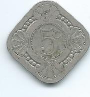 Netherlands - Wilhelmina - 1913 - 5 Cents - KM153 - [ 3] 1815-… : Royaume Des Pays-Bas
